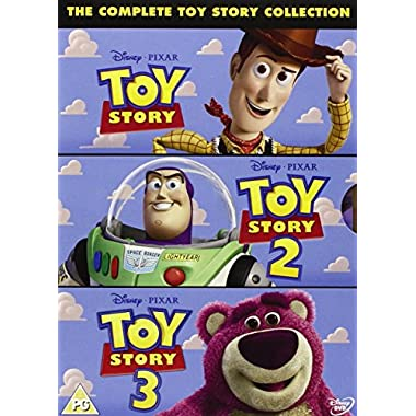 Toy Story 1-3 Box Set [UK Region 2 DVD]