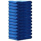 Tangkula 12 Pcs 72'' X 80'' Furniture Pads Protection Moving Blankets