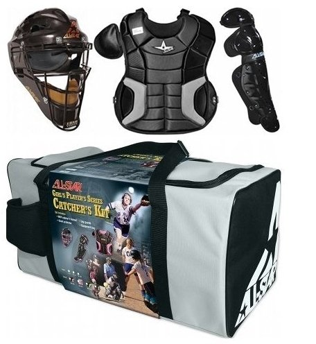 All Star Adult Fastpitch Series Complete Softball Catcher's Gear Set – DiZiSports Store
