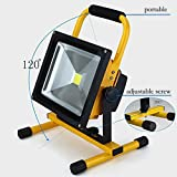 Spotlights 30W LED Outdoor Work Lights Camping Lights,Rechargeable Portable LED Work Light Camping Emergency Lights Portable Floodlight With Built-in Rechargeable Lithium Batteries,[Energy Class A+++]
