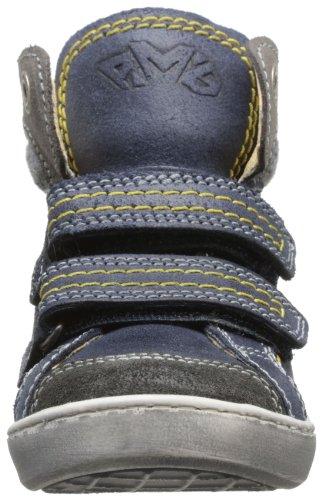 Primigi Glab - Zapatillas de Deporte de cuero niño azul - Bleu (Blue Chiaro)