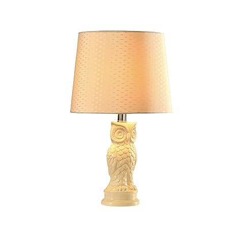 Cerámica Lámpara de mesa E27 Fuente de luz seda lámpara ...