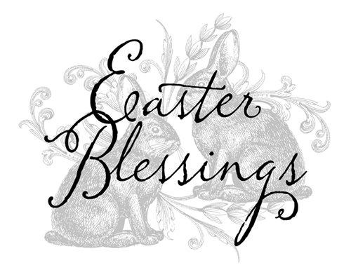 Jada Venia 9.75x7.75 Easter Blessing Light Box Insert