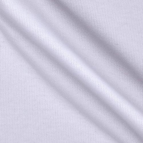 Fabric Merchants T-Knit Ribbing White