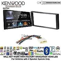 Volunteer Audio Kenwood DMX7704S Double Din Radio Install Kit with Apple CarPlay Android Auto Bluetooth Fits 2014-2015 Subaru Forester, 2012-2014 Subaru Impreza