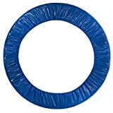 36″ Round Trampoline Safety Pad (Spring Cover) for 6 Legs- Blue Review
