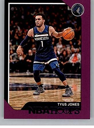 531c7ffc03d 2018-19 NBA Hoops Purple  230 Tyus Jones Minnesota Timberwolves Official Trading  Card made