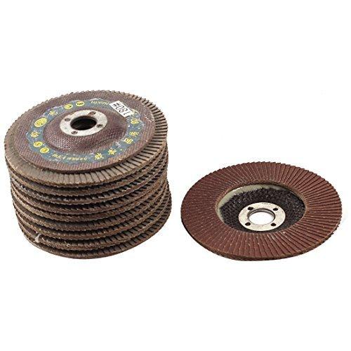 DealMux metal polimento 100 milímetros Diâmetro 180 # Flap lixamento abrasivo roda discos 10pcs