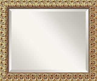 Amanti Art Framed Mirrors for Wall | Florentine Gold Mirror for Wall | Solid Wood Wall Mirrors | Small Wall Mirror 19.50 x 23.50 (B00444GPCU) | Amazon price tracker / tracking, Amazon price history charts, Amazon price watches, Amazon price drop alerts