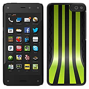 "For Amazon Fire Phone 4.7 , S-type Líneas Verdes"" - Arte & diseño plástico duro Fundas Cover Cubre Hard Case Cover"
