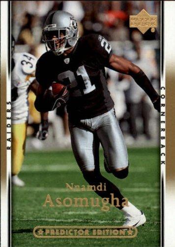 ball Card #135 Nnamdi Asomugha Near Mint/Mint (2007 Upper Deck Football Cards)