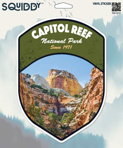 Squiddy Capitol Reef National Park - Vinyl Sticker for Car, Laptop, Notebook (5
