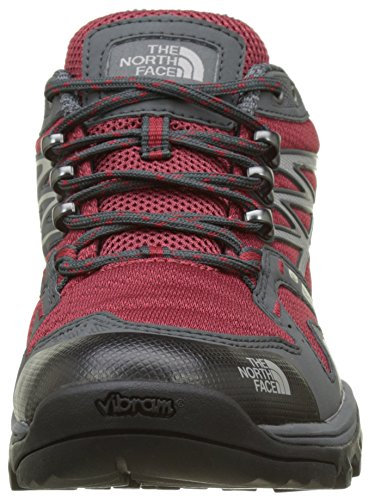 The North Face Hedgehog Fastpack GTX, Botas de Senderismo Para Hombre, Negro (Black/Rudy Red), 45.5 EU