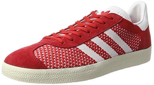 Scarlet Primeknit Rojo para Gazelle Adidas White Footwear Hombre Chalk White Zapatillas wBqWSwnU