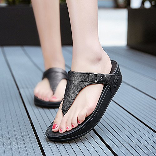Uk Spiaggia 5 5 Pantofole Aumentare Slittata Da Zhang2 Moda Black Eu uk7eu40 Flessuoso Ammortizzazione Sandali Scarpe All'aperto 38 PvBOnqgn