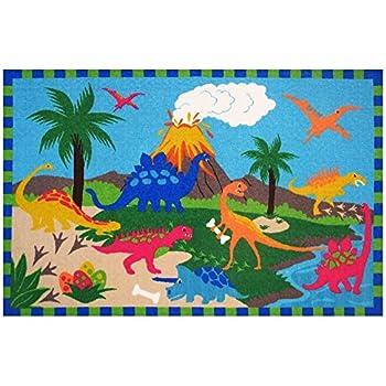 Amazon Com Olive Kids Dinosaurland Dinosaur Kids Rug Rug