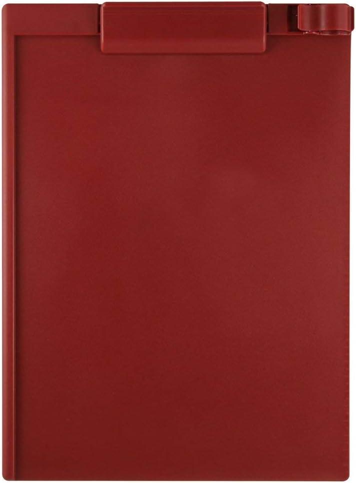 Magnetic Clipboard, Letter, Portrait, Red