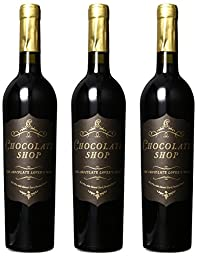 Chocolate Shop Chocolate Lover\'s Mixed Wine Pack, 3 x 750 mL