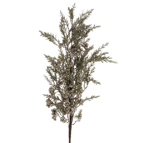RAZ Imports - Glittered Berry Pine Spray 32