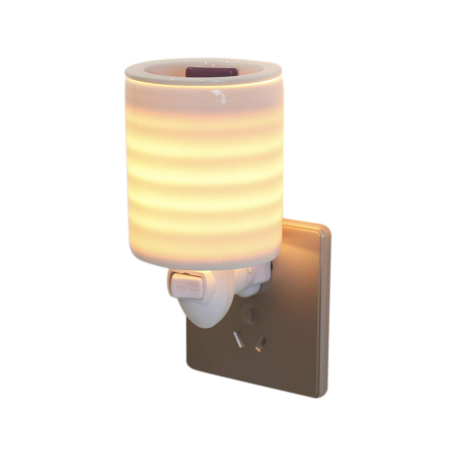 Cocopin Tranquil Stripe Plug-in Candle Warmer