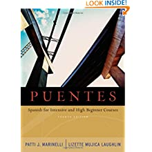 Puentes: Spanish for Intensive and High-Beginner Courses (with Audio CD)
