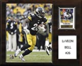 C&I Collectables NFL Pittsburgh Steelers Le'Veon Bell Player Plaque, 12 x 15-Inch