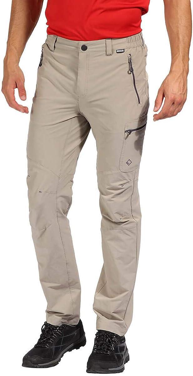 Regatta Highton Water Repellent Multi Pocket Active Hiking Pantalones Hombre