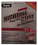 Best Nicotine Polacrilexes - Rugby Nicotine Polacrilex Gum USp, 4mg Review