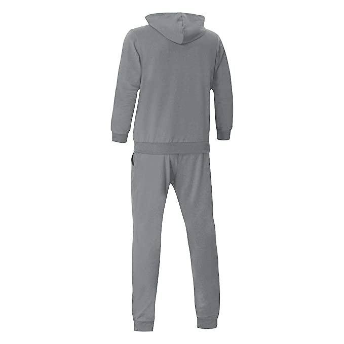 SMALLE ◕‿◕ Clearance, Mens Autumn Patchwork Zipper Sweatshirt Top Pants Sets Sports Suit Tracksuit at Amazon Mens Clothing store: