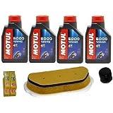 Kit de reparación y mantenimiento Yamaha R6 600 Aceite Motul, filtro, aceite, aire