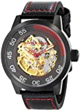 ANDROID Men's AD728BKG Antiforce Analog Automatic-Self-Wind Black Watch