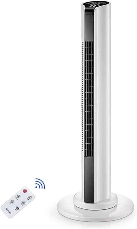 Ventilador, Torre oscilante Ventilador con Pantalla LED, Control ...