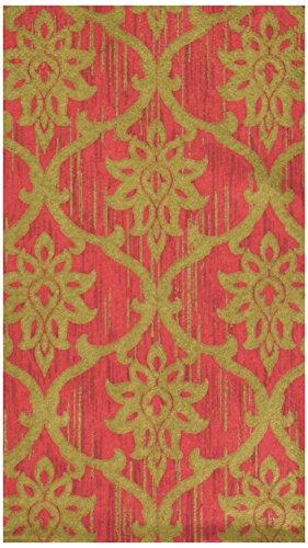 Amscan Festive Damask Guest Paper Towels , 96 Ct., 8