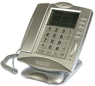 Teléfono fijo con panel táctil: Amazon.es: Electrónica