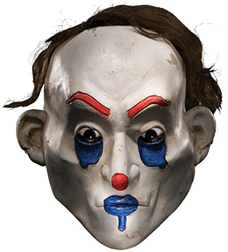 Rubie's Men's Batman The Dark Knight The Joker Henchman Happy Adult Mask, Multi, One Size (The Joker Fancy Dress Costume Dark Knight)