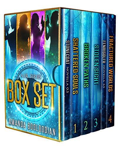 AIR Series: Books 1-4 with AIR Case Files (AIR Series Box Set)