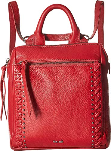 - The Sak Women's Loyola Convertible Mini Backpack Scarlet One Size
