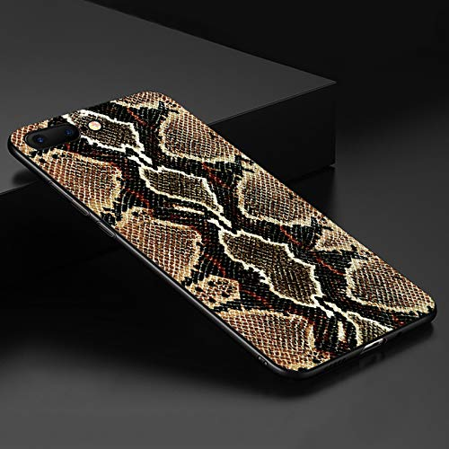 Fitted Cases - Phone Cases for iPhone 6 6S 7 8 Plus X XS XR XS MAX Snake Skin Zebra Leopard Print Crocodile Soft TPU Silicone Back Cover Shell - - Zebra Inch 8 Case Tablet