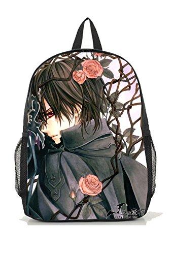 Kaname Vampire Knight Costume (Dreamcosplay Anime Vampire Knight Kuran Kaname Logo Backpack Bag Cosplay)