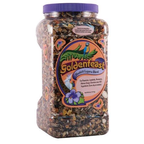 Goldenfeast Hookbill Legume Blend 64oz Bird Food by Goldenfeast