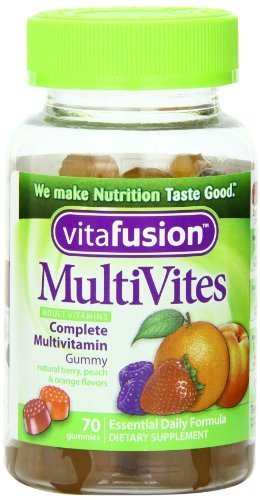 Vitafusion Multivites Gummy Vitamins, 70 Count (Pack of 3)