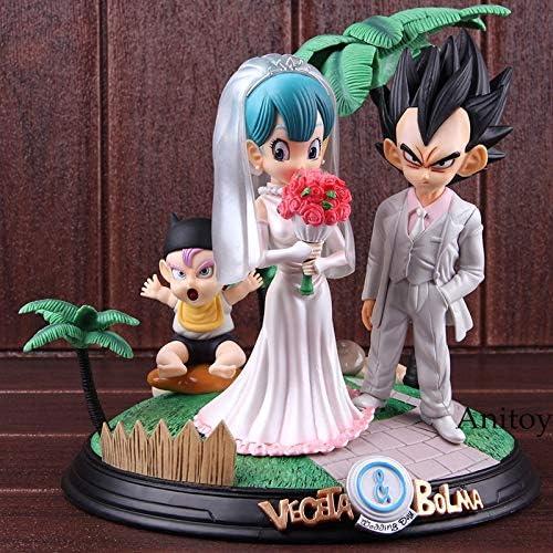 Dragon Ball Figura de acción Vegeta y Bulma día de la Boda ...