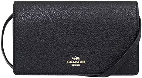 Coach Pebbled Leather Foldover Crossbody product image