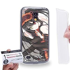 Case88 [Samsung Galaxy S4 Mini] Gel TPU Carcasa/Funda & Tarjeta de garantía - Date A Live Kurumi Tokisaki 1412