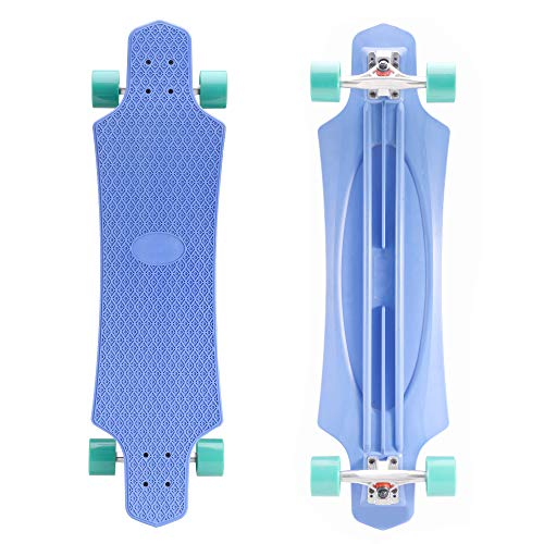 Playshion Cruising Longboard Skateboard Complete 36 Inch