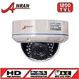 ANRAN HD 1200TVL CCTV Camera 30 IR LEDs Fix 4.0mm Lens Security Camera Outdoor IR-CUT Surveillance Dome Camera