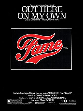 Out Here On My Own From Fame Sheet Pianovocalchords Lyrics By