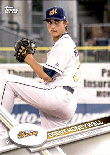 (2017 Topps Pro Debut #32 Brent Honeywell Montgomery Biscuits Baseball Card)