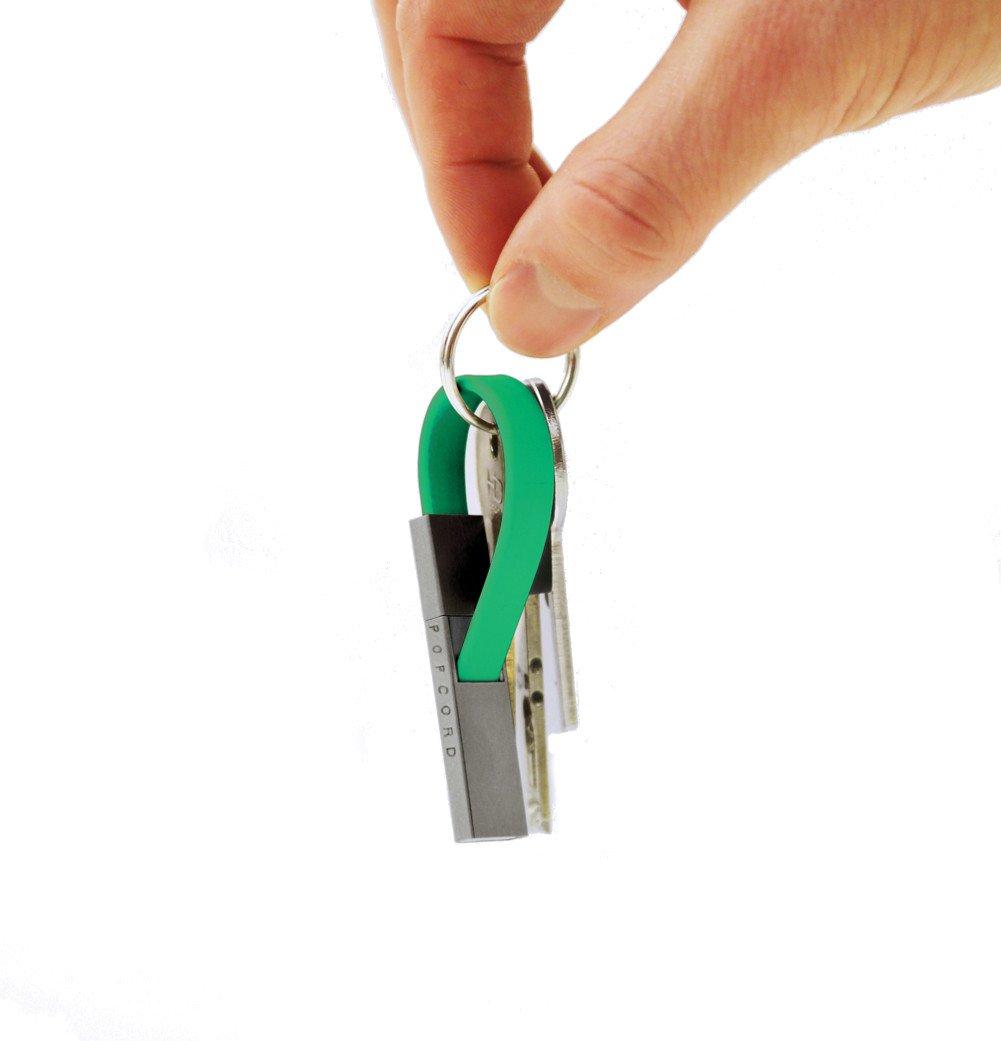 Llavero Micro USB a cable USB Popcord, carga portátil y ...