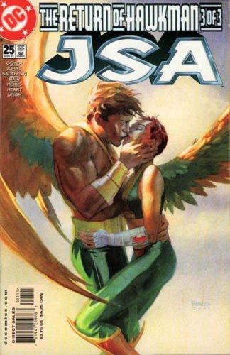JSA 25 - The Return of Hawkman Part 3 of 3 - Hawkman - Hawkgirl ebook